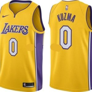 Los Angeles Lakers Kyle Kuzma Gold Jersey